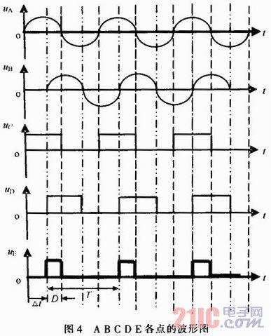 ic 8ad736及其周围器件组成交流变直流电路.