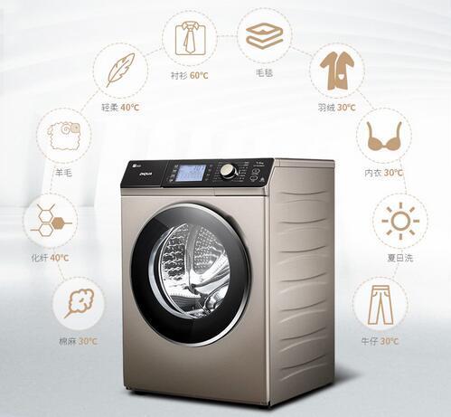时尚外观大容量 三洋滚筒洗衣机促销