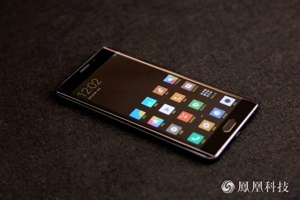 小米Note2正式发布 真机图赏 双曲面屏简直美呆!小米今天正式推出图片