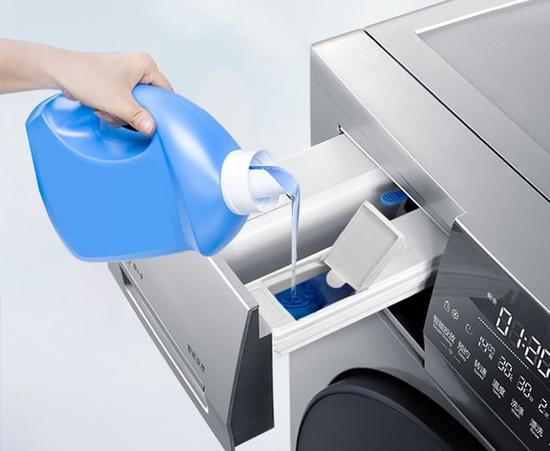 可远程操控 海尔8公斤滚筒洗衣机热销中