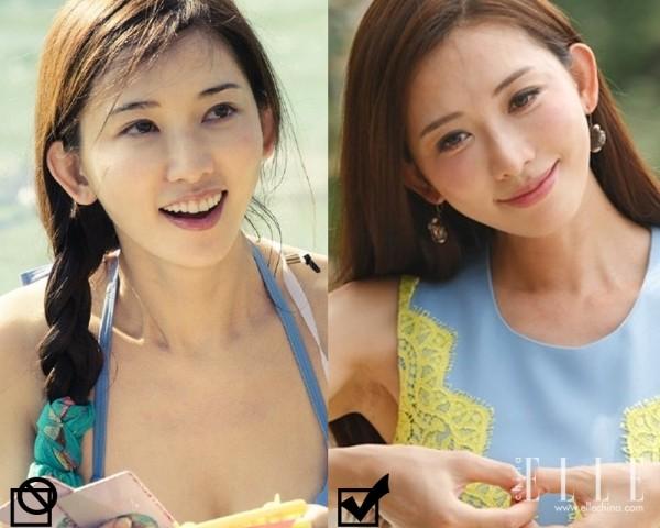 林志玲  志玲姐姐的皮肤很白