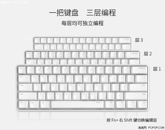 经典进化ikbc发布全新poker2机械键盘