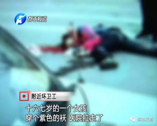 高中女生赶考路上被轧 肇事司机被抓称不知道撞人(全文)