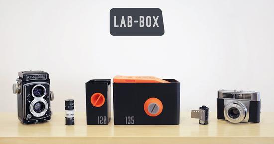 LAB-BOX让你无需暗房就可冲洗胶片