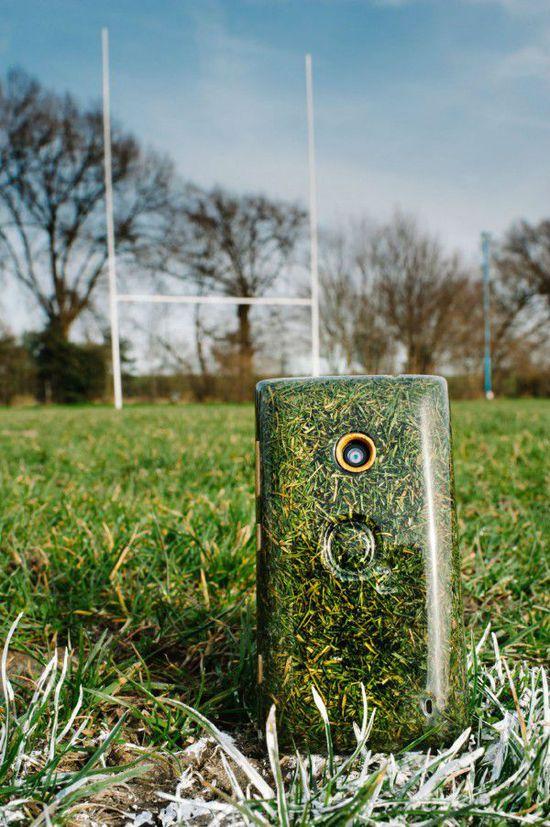 能手机O2 以草木为原料制成