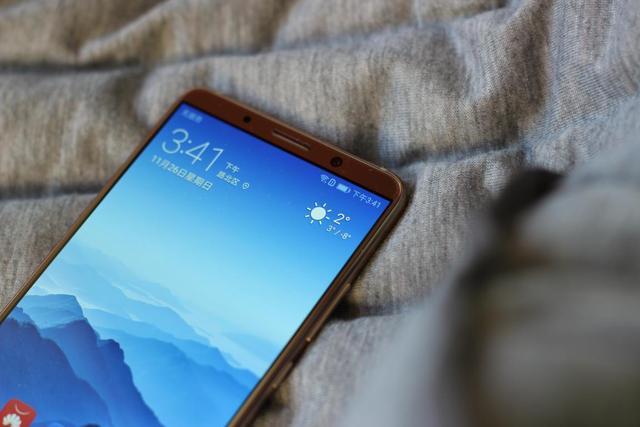 兼具商务和时尚的全面屏手机,华为Mate 10 Pro摩卡金版图赏