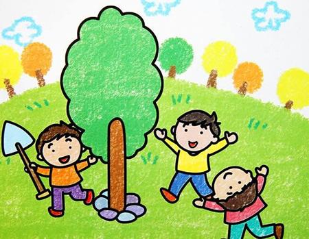 """让小朋友们和家人及外教老师们一起,当一次真正的""""园丁""""图片"""
