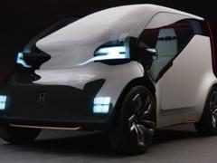 长得真像宝骏E100 本田公布搭载自动驾驶的微型电动概念车Neu