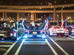 多图慎入:如果改装车有天堂 那一定是Daikoku停车场的模样