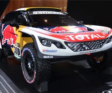 2017上海车展:东风标致宣布携冠军车型DKR参战丝绸之路拉力赛