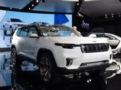 2017上海车展:Jeep云图惊艳亮相 中国设计展示未来SUV雏