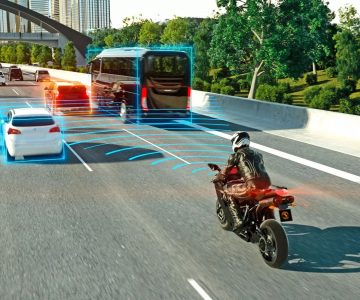 摩托也能自适应巡航 大陆集团展示最新骑行安全辅助系统