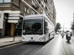 比亚迪将迎来强力挑战者 奔驰Citaro电动巴士即将交付