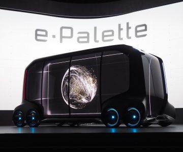 国际大厂丰田也抄袭别人的概念车?移动平台e-Palette正式亮