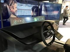 """韩国厂商总是容易变""""弯""""?2018CES起亚展示未来概念驾驶舱"""