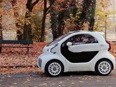 谁说3D打印不能造车?首款量产3D打印的电动车LSEV正在中国展