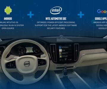 Intel Inside!英特尔为沃尔沃提供新一代安卓车载信息娱